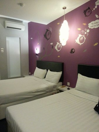 Bliss Boutique Hotel: the room where I stayed...