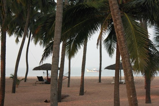 Malabar Ocean Front Resort and Spa: Arabian sea from the cottage