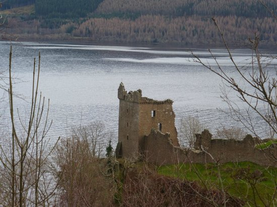 Urquhart castle Scotland ,This was has close we could get