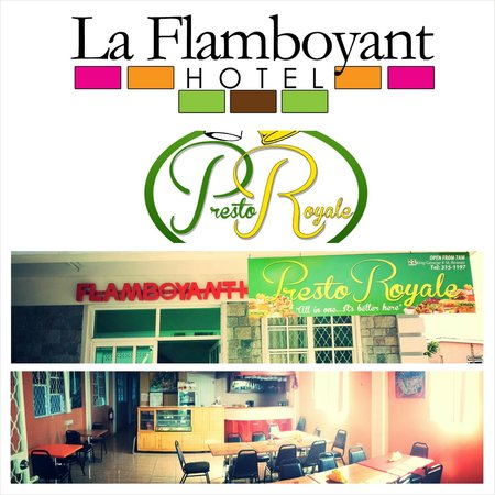La Flamboyant Hotel: Our In-House Restaurant, Serving Both Local And International Cuisine.