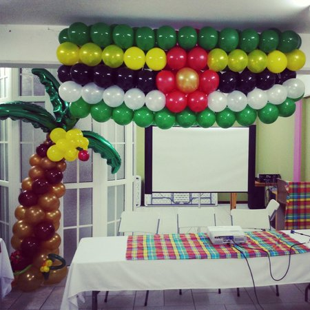 La Flamboyant Hotel: Our Conference Facility Decorations