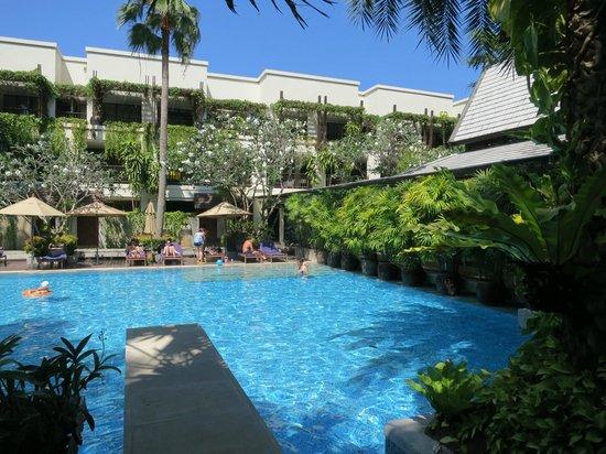 Burasari Resort: Blick aus dem Pool Zimmer 1102