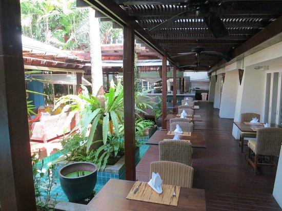 Burasari Resort: Speisesaal / Restaurant