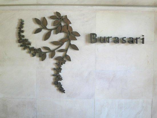 Burasari Resort : Empfang