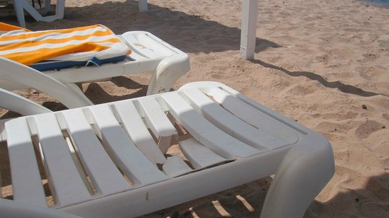 InterContinental Aqaba Resort: I lettini
