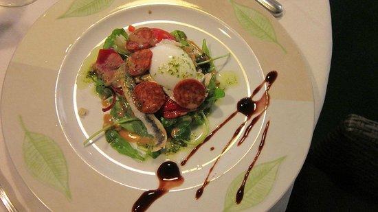 Archipel L' : Пиренейский салат с анчоусами