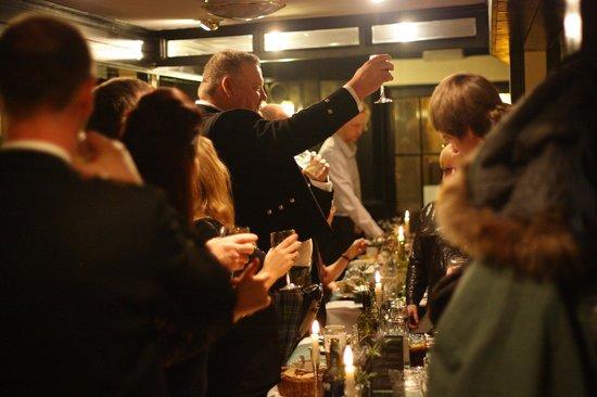Tyacks Hotel: Celebrating Burns Night