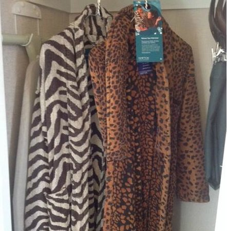 Kimpton Hotel Palomar Philadelphia : The famous robes (a little rough, but warm)