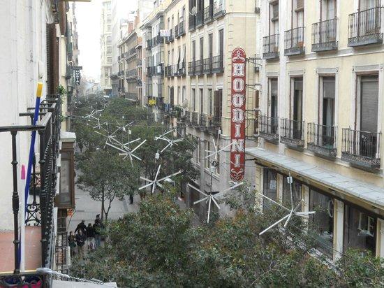 Hostal Zamoran: view from balcony