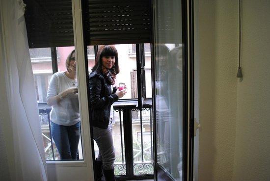 Hostal Zamoran: balcony