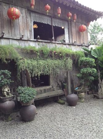 Yap Sandiego Ancestral House: part of the garden
