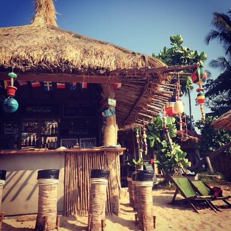 Coco Lanta Resort: bar sulla spiaggia