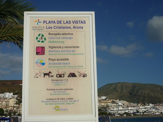 Park Club Europe Hotel: Playa de las vistas