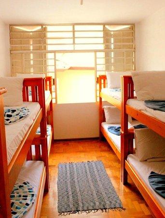 Morumbi Hostel: Quarto coletivo