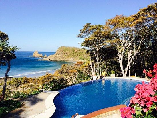 Villas Playa Maderas: Pool with a view