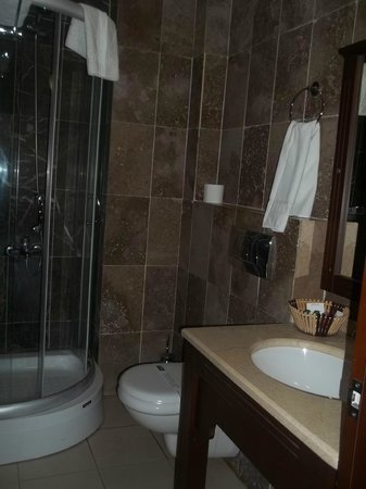 Gulhane Park Hotel: En suite bathroom