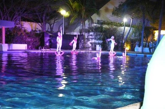 Grand Oasis Palm: alguno de los eventos de la noche