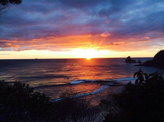 Villas Playa Maderas: Sunset view from villa 1