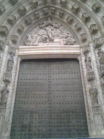 Catedral de Sevilla: дверка
