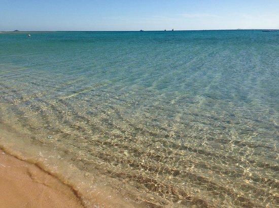 Kempinski Hotel Soma Bay : crystal clear sea