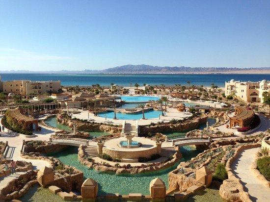 Kempinski Hotel Soma Bay : View from our balcony