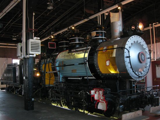 Steamtown National Historic Site : Steamtown cutaway locomotive