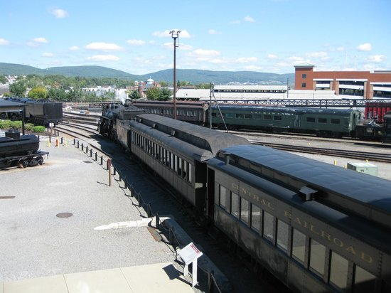Steamtown National Historic Site : Steamtown train ready for departure