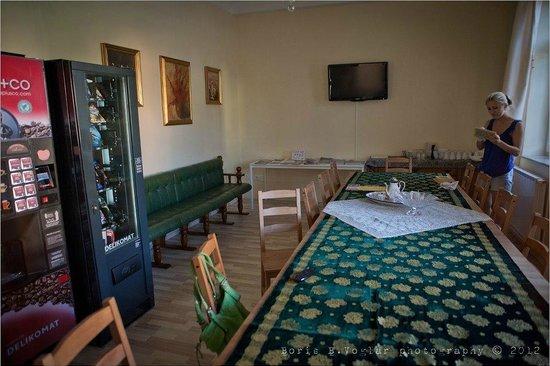 Hostel Sonce: Recepcion