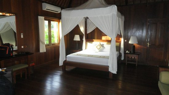 Ananda Cottages: La chambre