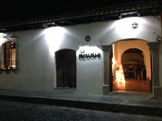 Mr Sushi Antigua: Mr Sushi de Noche