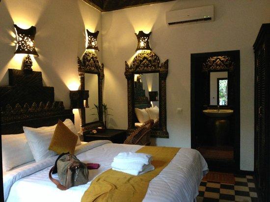 Petit Temple Suite & Spa : nice room interiors