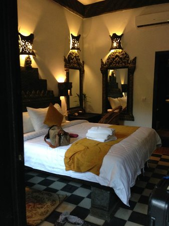 Petit Temple Suite & Spa : roomy accommodations