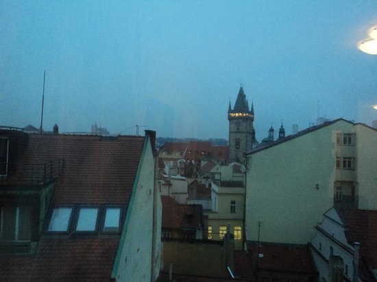 Hotel Leon D'Oro : vista desde habitacion