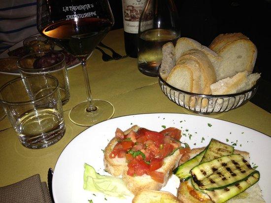 La Taverna di San Giuseppe: Antipasti.