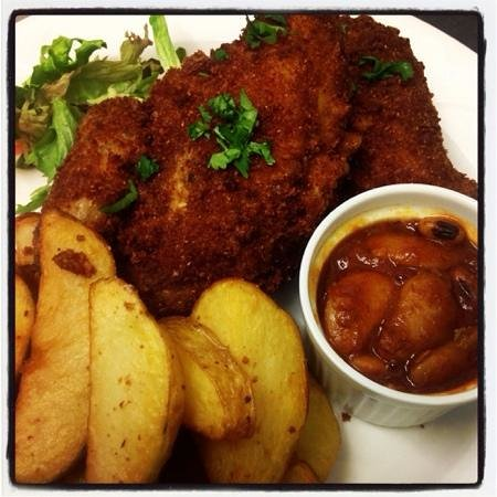 The Gordon Arms: 16spice fried chicken