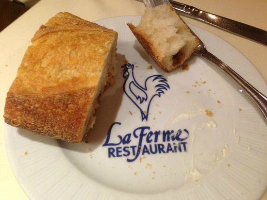 La Ferme Restaurant: The bread is delightful.