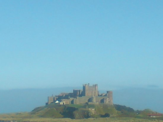St Aiden Beach : Bamburgh Castle