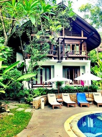 The Tubkaak Krabi Boutique Resort : traditonal thai accomodation