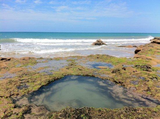 Paracuru Kite Village: Piscinas naturais (natural pools)