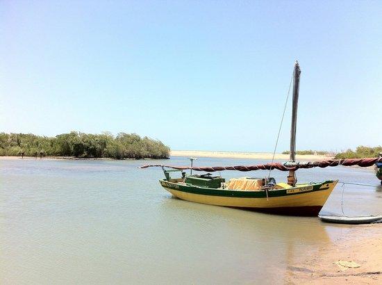 Paracuru Kite Village: Barra do Rio Curu (Curu river)