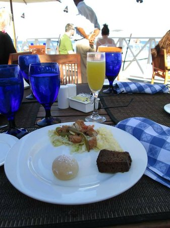 Sandals Montego Bay : Breakfast Loved the mimosas every morning