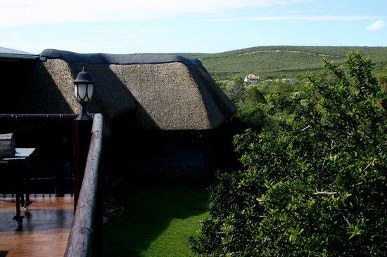 Valley Bushveld Country Lodge & Safari Tours: Aussicht von der Terrasse