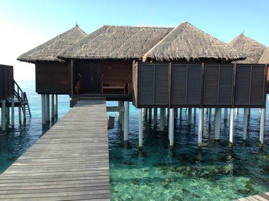 Coco Bodu Hithi: our escape water villa