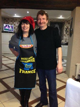 Le Manoir des Chapelles : The Charming Hosts!