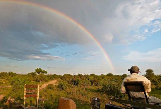 Simbavati River Lodge: Sunset in Timbavati Reserve
