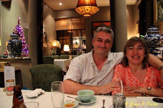 An Vien Restaurant: Después de disfrutar de una buena comida
