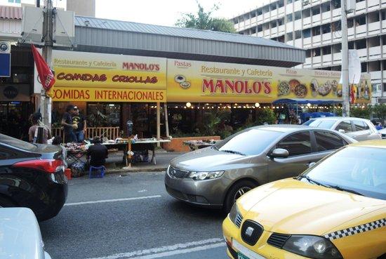 Veneto Hotel & Casino : Manalos restaurant across from hotel.