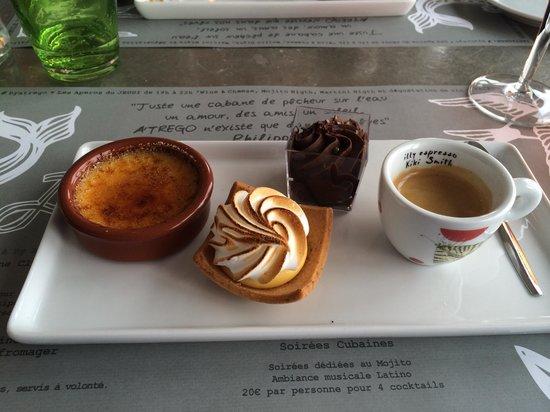 A'trego : Café gourmand