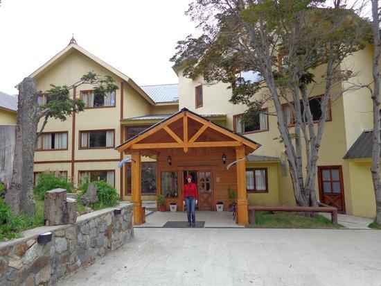 Altos Ushuaia: entrada do hotel