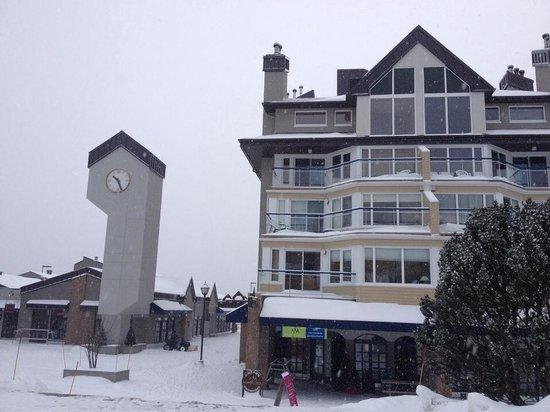 Hebergement Mont-Sainte-Anne: Bloc de condos, Hébergement Mont-Sainte-Anne